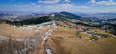 Jaworz (Antoni Chorąży (Tony)) Tags: lx100 spring mountains beskidy beskidwyspowy panorama sky niebo las forest trip wycieczka trekking sunday niedziela