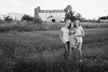 All American (Angela Weirauch Photography) Tags: pearlandtexas ricedrierroad portrait blackandwhite blackwhite bw girl field smile girls sister sisters twins silo trio pearland texas