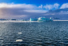 Jökulsárlón (Clint Everett) Tags: landscape winter iceland glacier lagoon ice blue water glacial iceberg nature sky clouds jökulsárlón vatnajökull