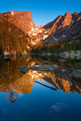 Dreaming of You (Ryan C Wright) Tags: dream lake dreamlake rockymountainnationalpark summer rmnp nationalparks estespark colorado officedecor wallart fineart landscapephotography naturephotography reflection bearlake ryanwrightphotography