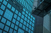 """""""Wall of Windows"""" (36D VIEW) Tags: buildings skyscraper sony a7rm2 a7rii mirrorless vintage legacy 50mm fullframe blue lines angles"""