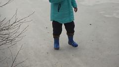 P4070484 (Axelweb) Tags: chubby bbw girl lady female rainwear raincoat pvc shiny wellies rubber boots gas mask plastenky holinky rainsuit rain suit plastic wellington gumboots galoshes gummi gasmask gloves winter
