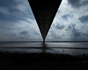 To the other side (PGCarter) Tags: bridge silhouette humberbridge humber water clouds