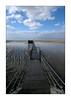 Vers la cabane du pêcheur (Bruno-photos2013) Tags: carrelets océan mersea sea maréebasse plage cabane pêcherie atlantique paysage paysagemaritime oléron horizon