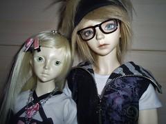 Aiko & Noze (Leelewine) Tags: stella aprilstory junior haji dreamingdoll elva