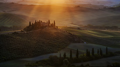 Tuscany, magical morning (rinogas) Tags: italy toscana tuscany valdorcia morning rinogas unesco