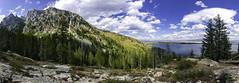 Cascade Canyon (bpinola) Tags: grandteton wyoming jacksonhole cascadecanyon landscape pano