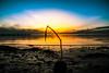 By the beach (Maria Eklind) Tags: ribban bridge beach ribersborg sunset strand sweden himmel ocean brygga sunsetlight öresud sky water malmö skånelän sverige se