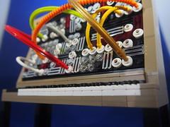 Moog Model 55 (grobiebrix) Tags: lego afol moc moog synthesizer synthesizers bobmoog analog analogue synthesis model55