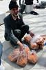 Selling dried apricots (Chris Brady 737) Tags: apricot street hamadan iran