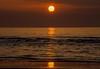 Sunset (*SanM.*) Tags: sunset ärmelkanal englishchannel calais capgrisnez capblancnez orange beach strand plage littoral france frankreich seascape water ocean sea escalles