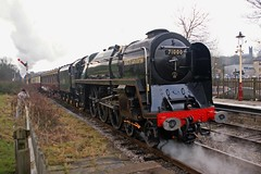 RAMSBOTTOM 220111 71000 (SIMON A W BEESTON) Tags: elr eastlancashirerailway caprotti 71000 dukeofgloucester ramsbottom