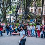 2018 - Mexico City - Coyoacan's Plaza Jardin Hidalgo thumbnail