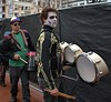 Drummers (Scott 97006) Tags: guys men drums costume makeup image musicians band quince