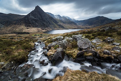 Overlooking Tryfan (ed027) Tags: ifttt 500px mountain range peak valley hill ridge snowcapped rolling landscape rock scenic scenery rocky waterfall water long exposure dramatic beautiful moody grassland mist lake mountains looking down wide angle vista snow landscapes