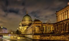Berliner Dom (fotoerdmann) Tags: fluss fotoerdmann spree nacht nightshot hauptdtadt winter deutschland dom germany berlin canon6dmark2