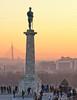 belgrade sunset (poludziber1) Tags: street streetphotography skyline sky sunset serbia srbija city colorful cityscape color colorfull capital orange people travel urban belgrado beograd belgrade