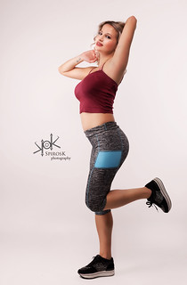 Fitness Pinup with C.Kanellou by SpirosK photography: Gym time!