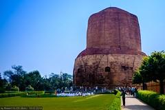 Sarnath - Dhamekh Stupa (Robert GLOD (Bob)) Tags: architecture buddhism building construction religion religious spiritual spirituality stupa in ind india sarnath uttarpradesh
