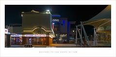 (Parallax Corporation) Tags: southport sonya7rii panoramic funfare casino carousel seaside nighttime neon spotlights silcocks