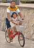bycicle (poludziber1) Tags: street streetphotography summer shenzhen city colorful cityscape color colorfull china travel urban people bycicle
