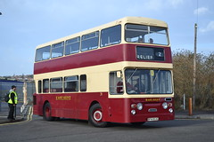 East Kent RFN953G (Will Swain) Tags: rochester coach park during nuventure running day 30th december 2017 south east medway town bus buses transport travel uk britain vehicle vehicles county country england english kent rfn953g preserved
