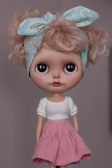 My little retro girl ... (crafting with loove) Tags: blythecustom blythedoll customblythe dollclothes dolldress doll