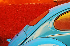 coccinelle turquoise (woolgarphilippe) Tags: beatle coccinelle coche car auto voiture color colores couleurs turquoise courbes curves