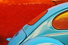 coccinelle turquoise (woolgarphilippe) Tags: beatle coccinelle coche car auto voiture color colores couleurs turquoise courbes curves