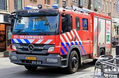 Brandweer Mercedes Atego Rescue Appliance (PFB-999) Tags: brandweer dutch fire brigade service merceds atego rescue appliance truck engine lorry vehicle unit pump lightbars grilles leds victor 22ndh2 amsterdam netherlands holland