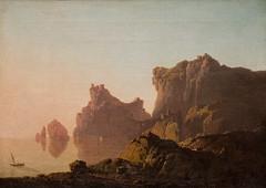 Joseph Wright of Derby, The Gulf of Salerno 1783-85 1/27/18 #artinstitutechi (Sharon Mollerus) Tags: artinstituteofchicago chicago illinois unitedstates us cfptig18