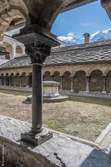 Cloître de la Collégiale des Saints-Pierre-et-Ours - Aosta (Giancarlo - Foto 4U) Tags: c2018 24120mm aosta aoste d850 giancarlofoto italia italie nikon
