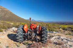 4Y4A2135 (francois f swanepoel) Tags: karoomatters r62 berniewentzel karoo kleinkaroo masseyferguson montagu red scenics tractor westerncape