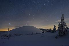Za svitu hvězd (jirka_74) Tags: krkonoše karkonosze landscape poland czech night nightphotography winter
