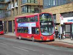 GAL WVL352 - LX60DWA - BERESFORD STREET WOOLWICH - FRI 17TH MAR 2018 (Bexleybus) Tags: beresford street woolwich town centre se18 go ahead goahead london wrightbus gemini volvo b9 tfl route 180 wvl352 lx60dwa