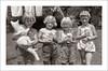 Portrait 052-38 (Steve Given) Tags: familyhistory socialhistory portrait kids group girls children pets cats kittens