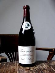 Louis Latour Bourgogne Pinot Noir (knightbefore_99) Tags: wine vin vino red rouge rosso grape tinto bottle tasty best drink pinot noir bourgogne burgundy 2015 french france