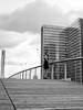Bibliothèque Nationale de France (Nathanaël Photo) Tags: 75013 bibliothèquenationaledefrance catherine france modèle paris parisbyelles robe uneseulefemme