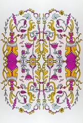 Sunday Doodle (Lindsaywhimsy) Tags: doodle pattern design illustration ink pen markers