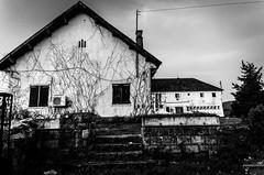B&W House (haddadzakaria) Tags: benimtir blackandwhite tunisie house shed hut monochrome abandoned shack farmhouse log cabin residential structure barn canterbury shaker village homestead