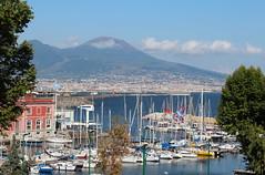 Naples - Campania - Italy (Been Around) Tags: gulfofnaples mountvesuvius vesuv ita italy italia italien eu campania kampanien port boote europe europa mittelmeer hafen
