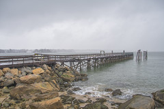 salem pier damage (SarahRydgren) Tags: winter newengland massachusetts love nikon landscapes ocean salem pier storm