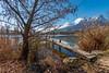 Le ponton (2018) (gerardcarron) Tags: 1022 arbres canon80d ciel eau hiver lake landscape morning matin nature paysage ponton pontoon savoie lacstandré
