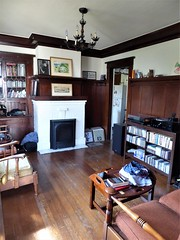 San Francisco, Noe Valley, My Son's Rental House, Living Room (Mary Warren 10.3+ Million Views) Tags: sanfranciscoca noevalley architecture building residence house livingroom furniture fireplace