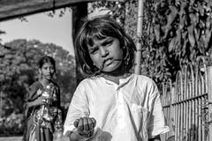 Young beggar (BockoPix) Tags: young beggar girl woman garden hanging mumbai india abhinavgardens malabar hill