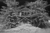 grandma's house - Infrared (eDDie_TK) Tags: colorado co adamscountyco adamscounty abandoned infrared ir blackandwhite bw