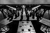 screws and rivets (heinzkren) Tags: construction steel metal stahl eisen konstruktion schrauben nieten schwarzweis blackandwhite bw sw monochrome panasonic lumix bridge brücke pfeiler brückenpfeiler