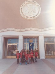 Moms at the New Mexico State Capitol