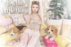 Illuminate (Gabriella Marshdevil ~ Trying to catch up!) Tags: sl secondlife cute kawaii pinkfuel mossmink catwa bento halfdeer gacha uber lootbox doll foxy