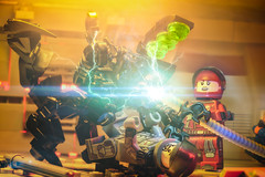 Shocking (Agaethon29) Tags: lego afol legography brickography legophotography minifig minifigs minifigure minifigures toy toyphotography macro cinematic 2018 legospace neoclassicspace spaceman classicspace space scifi sciencefiction ncs novateam customminifigure moc alien aliens blacktron